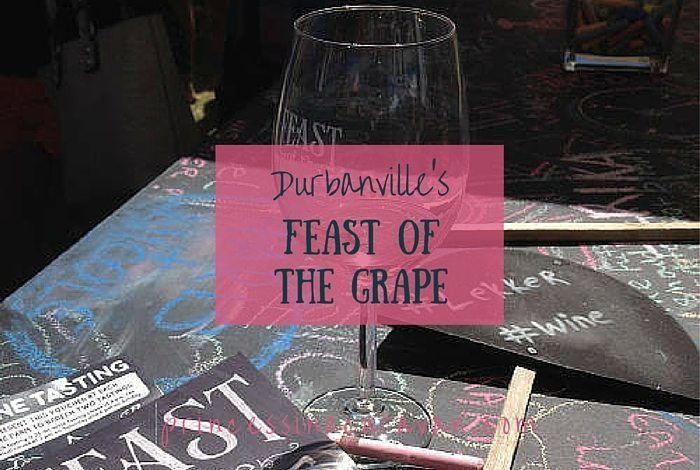 Durbanville's Feast Of The Grape: Grape Stomping and Wine Sipping.