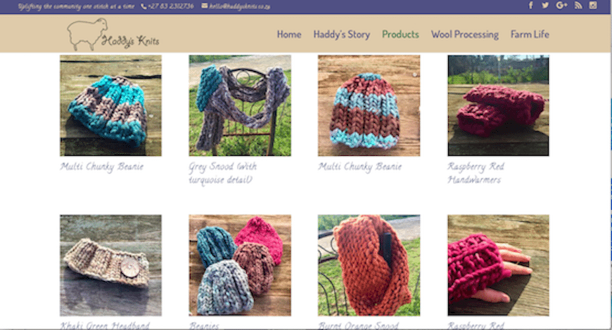 Haddy's Knits | Products Gallery
