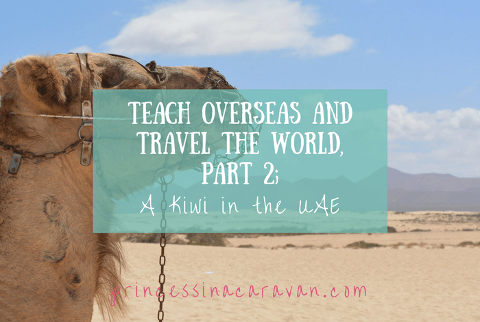 Teach And Travel The World: Part 2, A Kiwi In The Emirates
