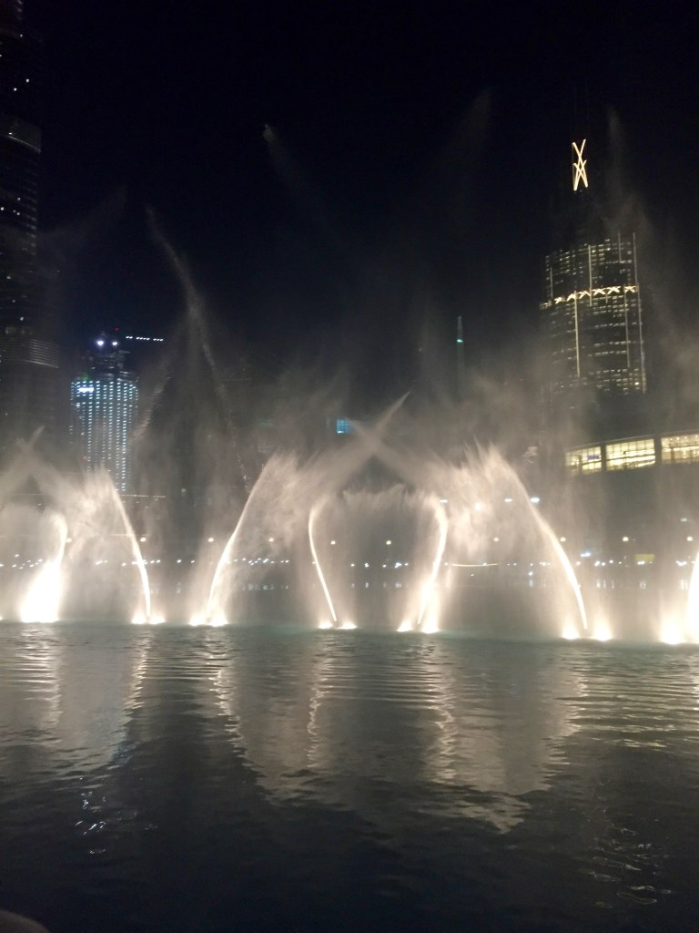The Dubai Fountains