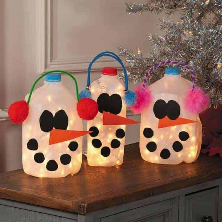 Image result for kids diy with milk cartons
