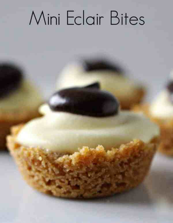 Mini Eclair Bites - an easy and delicious dessert