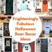 12 Frighteningly Fabulous Halloween Door Decor Ideas