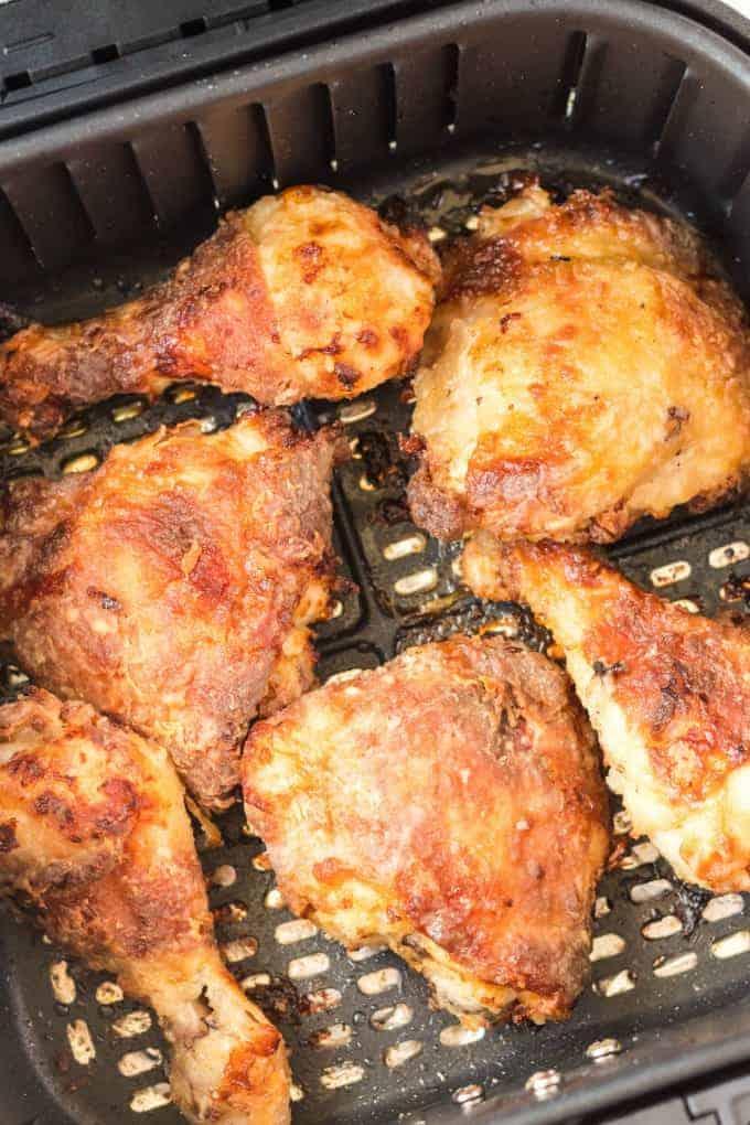 Air Fryer Fried Chicken {Crispy & Healthy!) - Princess ...