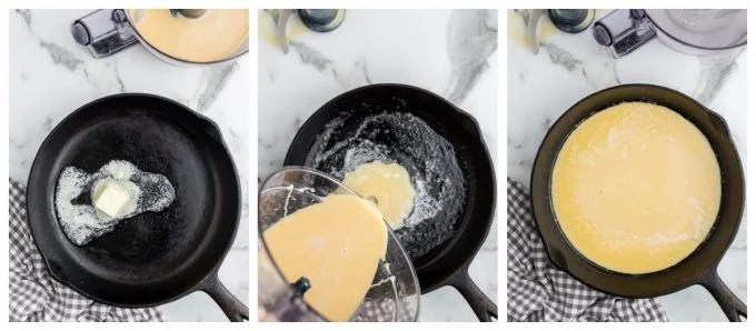 Steps to Make Dutch Baby Pancakes