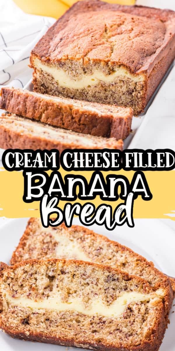 Cream Cheese Banana Bread Pinterest