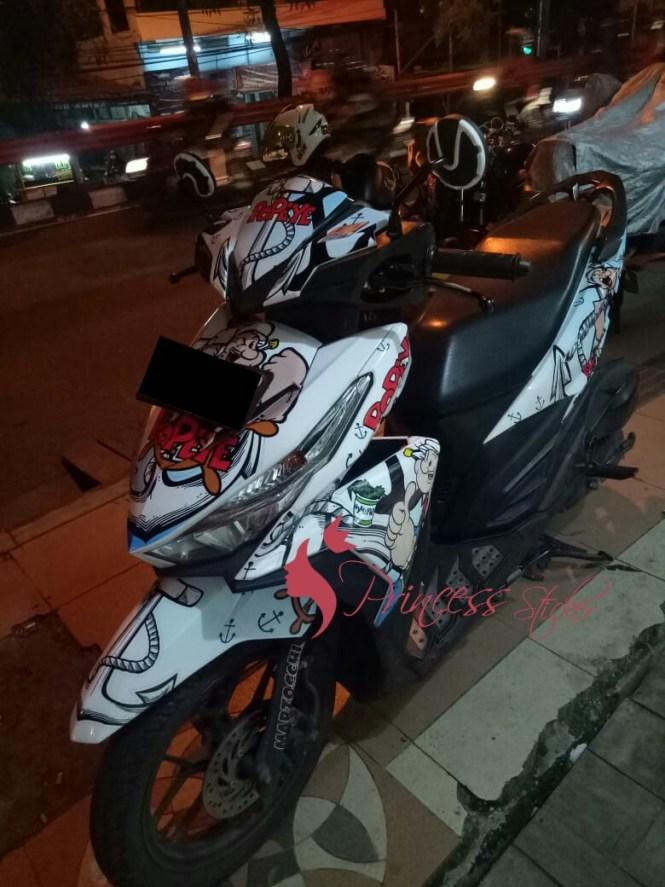 Jasa Striping Motor Thailook Di Trenggalek