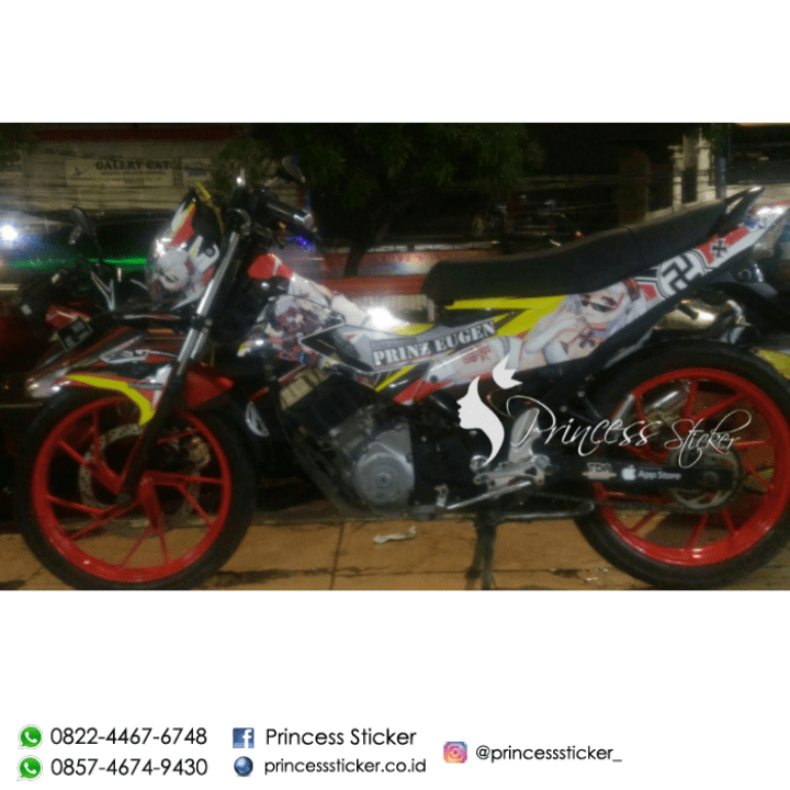 Jual Striping Motor mio Di Surabaya