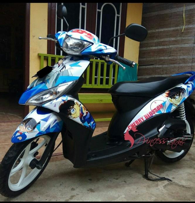 Grosir Sticker Motor aerox Di Menteng