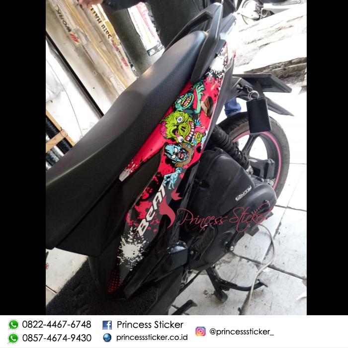 Agen Stiker Motor beat 2017 Di Bulak