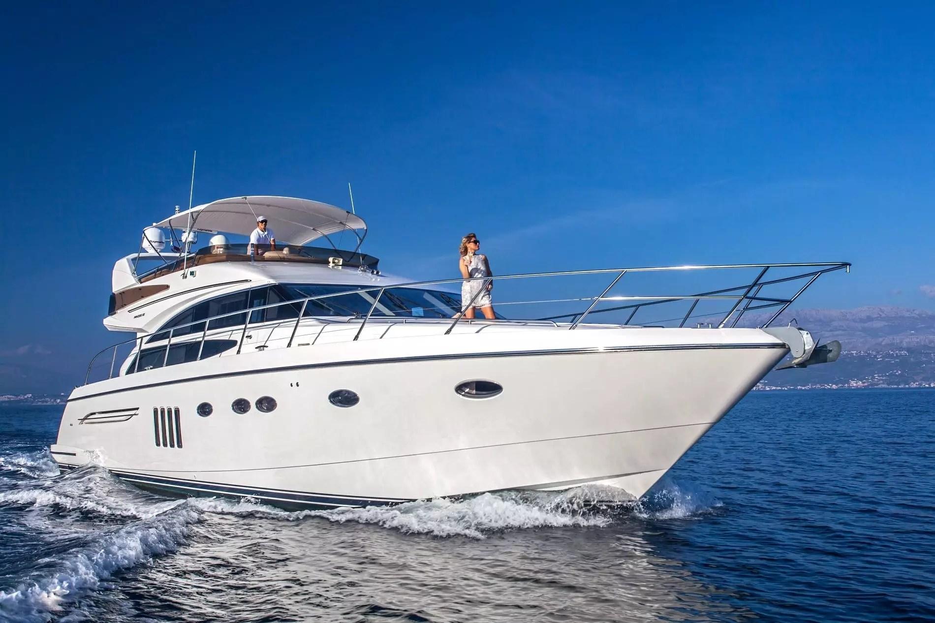 Sassy Yacht Charter Princess Charter