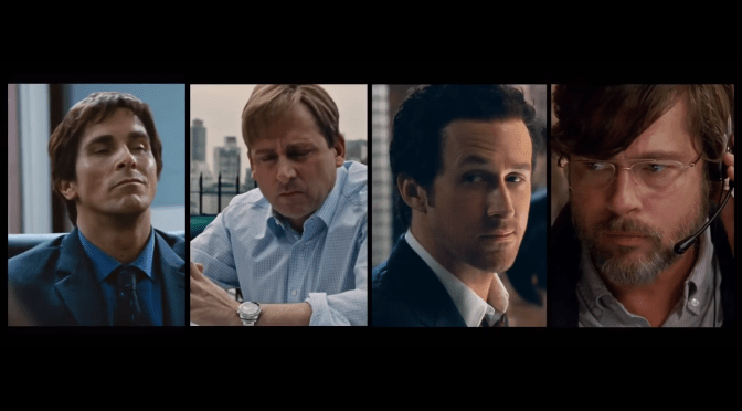 The Big Short, or Banking on Exceptional Acting