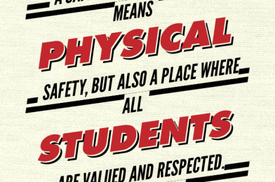 Students Can't Learn If They Don't Feel Safe