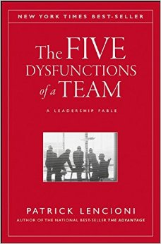 The Five Dysfunctions of Team: Professional Reading Saturday