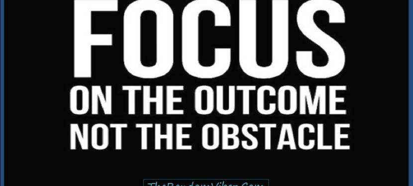 'Focus' Is The Answer to Many of The Questions At This Phase of The Year