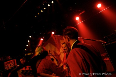 The Monsters @ The Monster's M Record Release Party, Dachstock © 04.11.2016 Patrick Principe