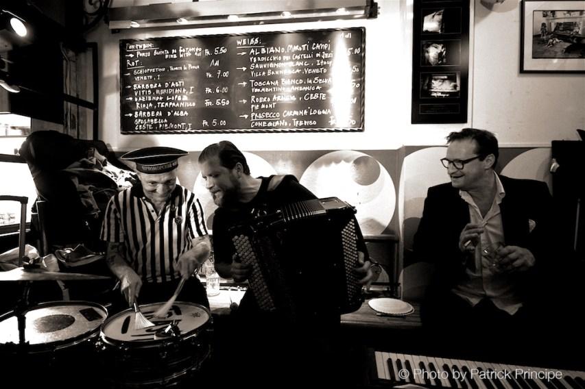 Drü (Reverend Beat-Man, Mario Batkovic & Resli Burri) @ Les Amis © 07.09.2015 Patrick Principe