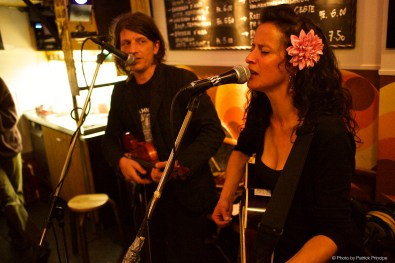 Menic & Lady Gomorra @ Les Amis © 27.04.2015 Patrick Principe