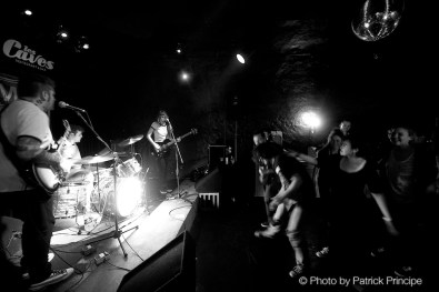 The Franceens @ Les Caves © 04.04.2015 Patrick Principe