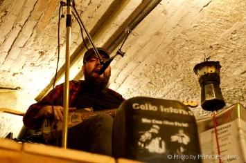 Cello Inferno @ The Voodoo Rhythm & Pantichrist Hardware Store ©25.03.2017 Patrick Principe