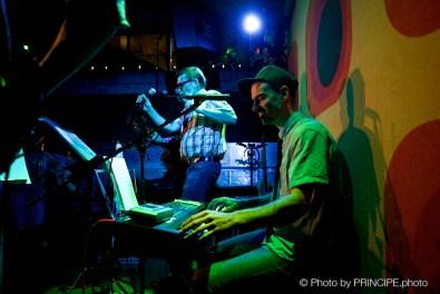 Die Specknockerln @ Café Kairo mit Lee Schornoz & Flo Zawyssnul © 12.10.2017 Patrick Principe