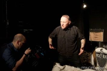 Videodreh Reverend Beat-Man © 28.01.2018 Patrick Principe