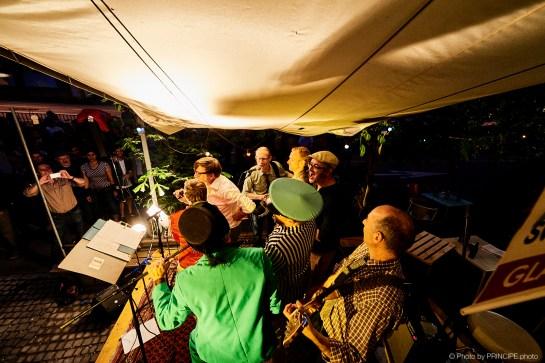 Die Specknockerln @ Café Kairo Gast Sandra Künzi, Simon Jäggi, Higi Bigler, Tobi Heim, Beni Bond & Binggis © 07.06.2018 Patrick Principe