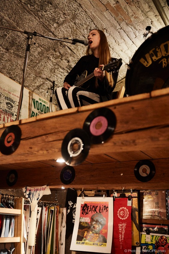 Brigitte Handley @ The Voodoo Rhythm Hardware Store © 20.10.2018 Patrick Principe