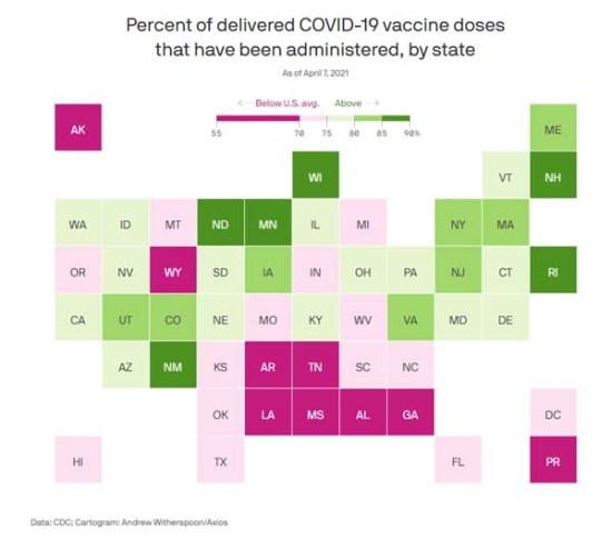 USA könnte kurz davor sein, gegen eine Impfstoffwand zu laufen – Bald wird sich dieser Fokus schlagartig darauf verlagern, Verweigerer zu überzeugen, sich impfen zu lassen.
