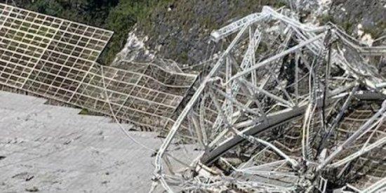 Arecibo Radio Telescope Collapse, Initial Reports And Analysis Arecibo-after-2-Tudorancea-Bulletin