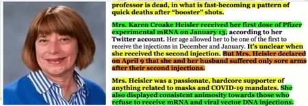Pro-Jab Professor's 'Quick Death' After COVID 'Booster' Shot Nnnn
