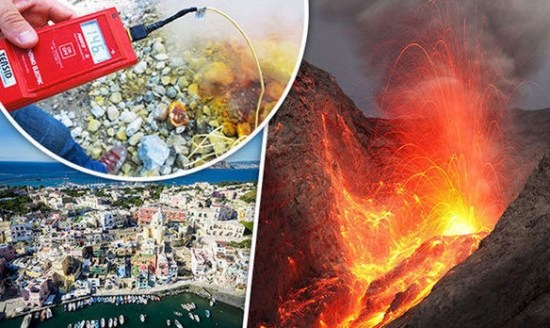 Submerged SUPER-VOLCANO at favourite Brit holiday destination alarms scientists