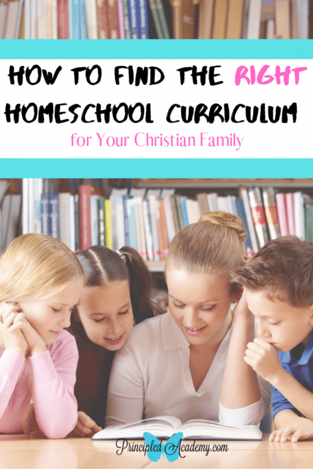 How to Find the Right Christian Homeschool Curriculum for Your Family