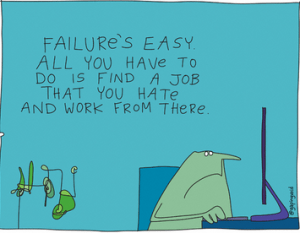 Failure is Easy