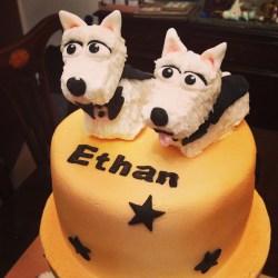 Small Crop Of Dog Birthday Cake