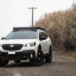 6th Gen Subaru Outback Roof Rack 2020 2021 Prinsu Design Studio