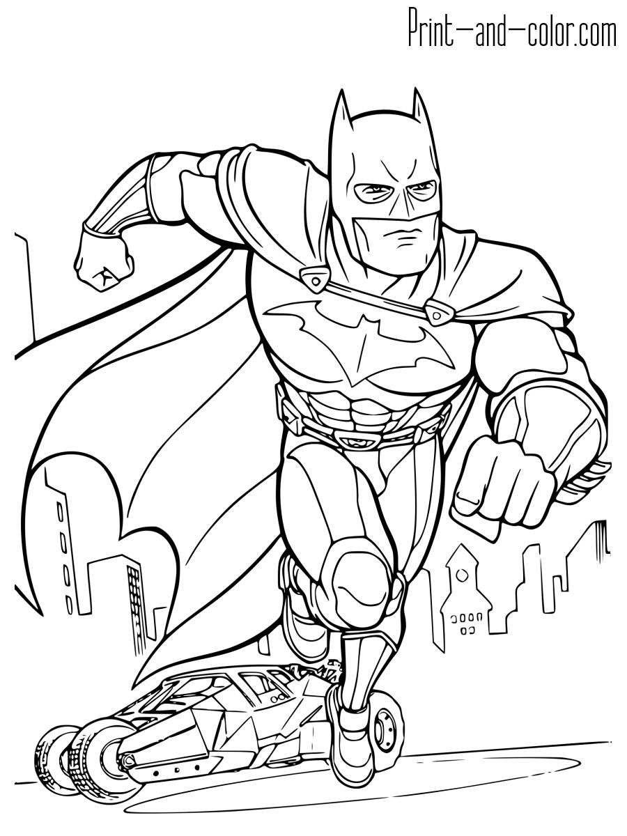 batman coloring pages print and color com