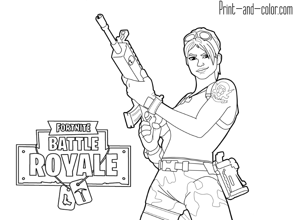 Fortnite Coloring Pages Banana - Sheapeterson - Coloring ...