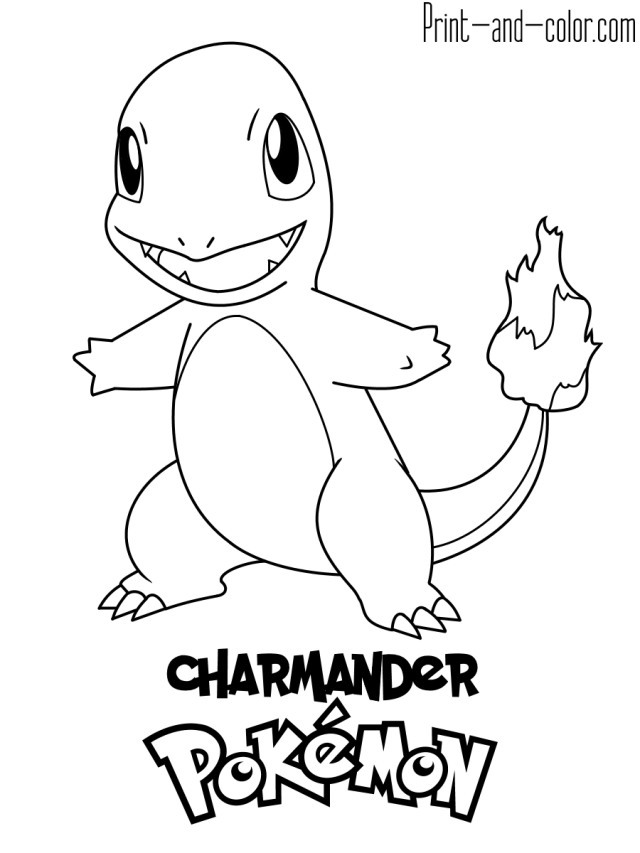 Pokemon coloring pages  Print and Color.com