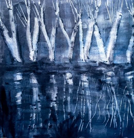 Willows ice moonlight draft