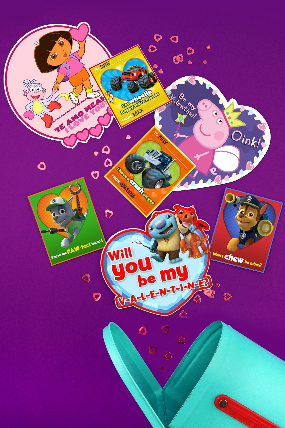 Nick Jr Birthday Cards Printable