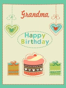 Free Printable Birthday Grandma Cards Create And Print Free Printable Birthday Grandma Cards At Home