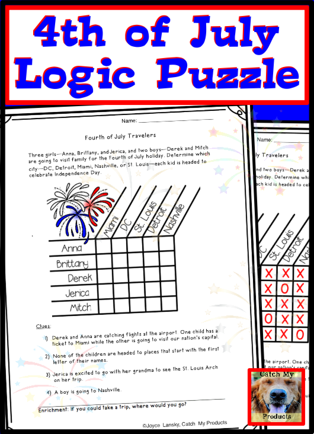 Printable Puzzles For Ted Students