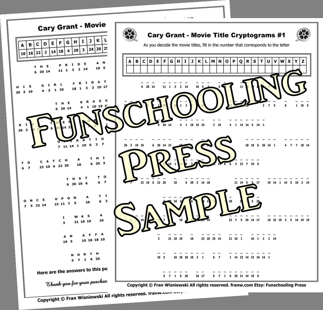 Decisive Free Printable Cryptograms With Answers