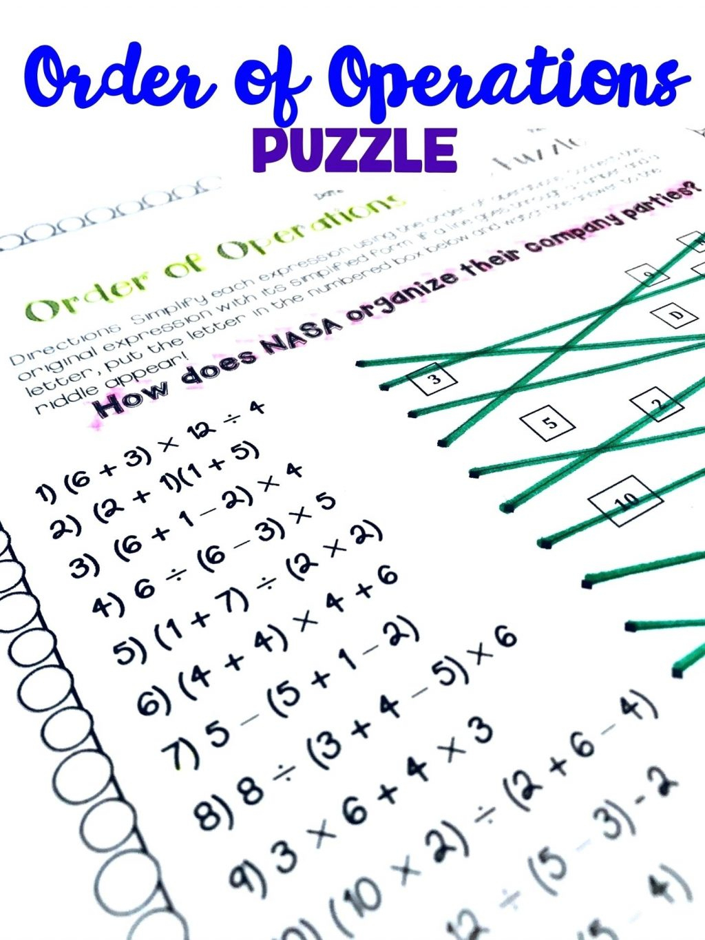 Printable Maths Puzzles Ks3