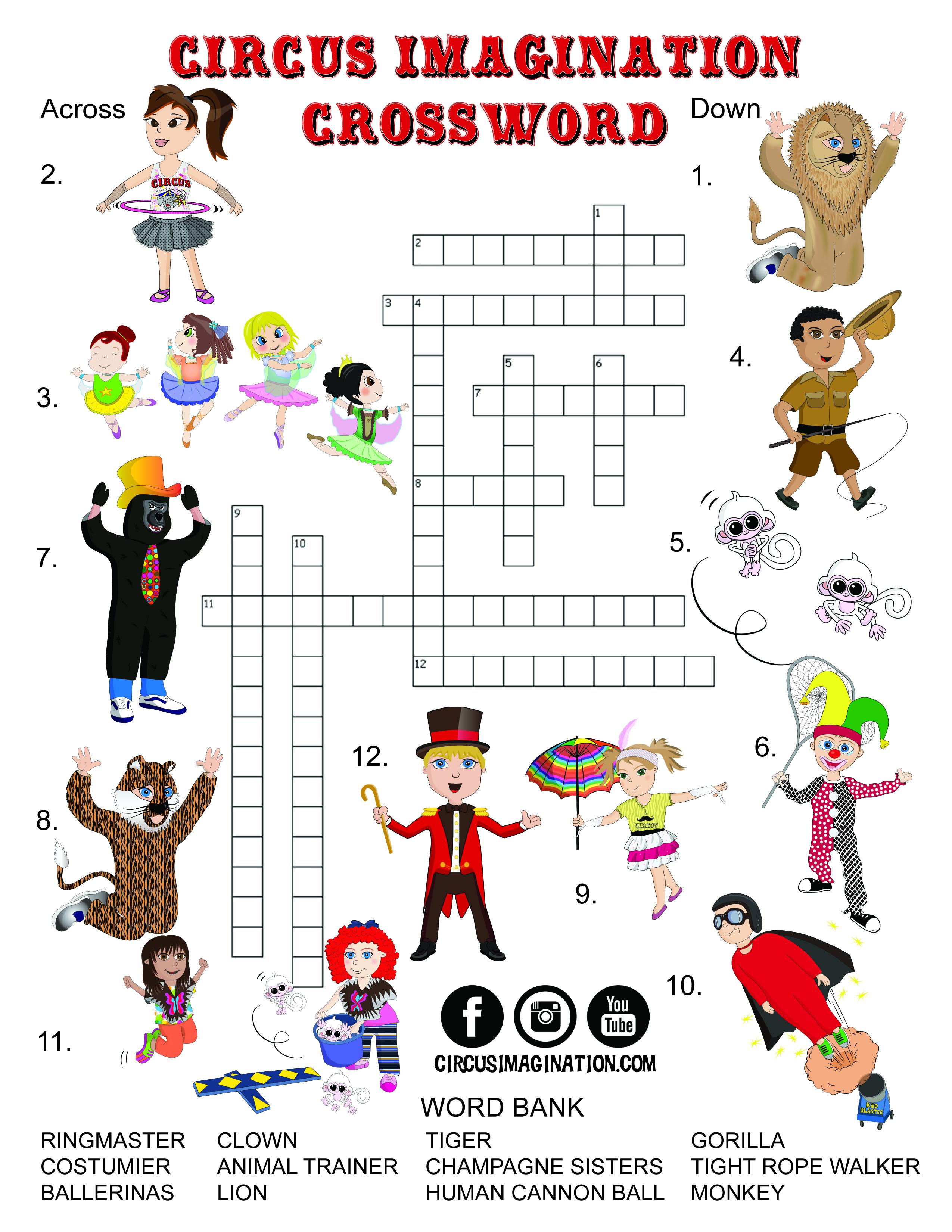 Circus Worksheet