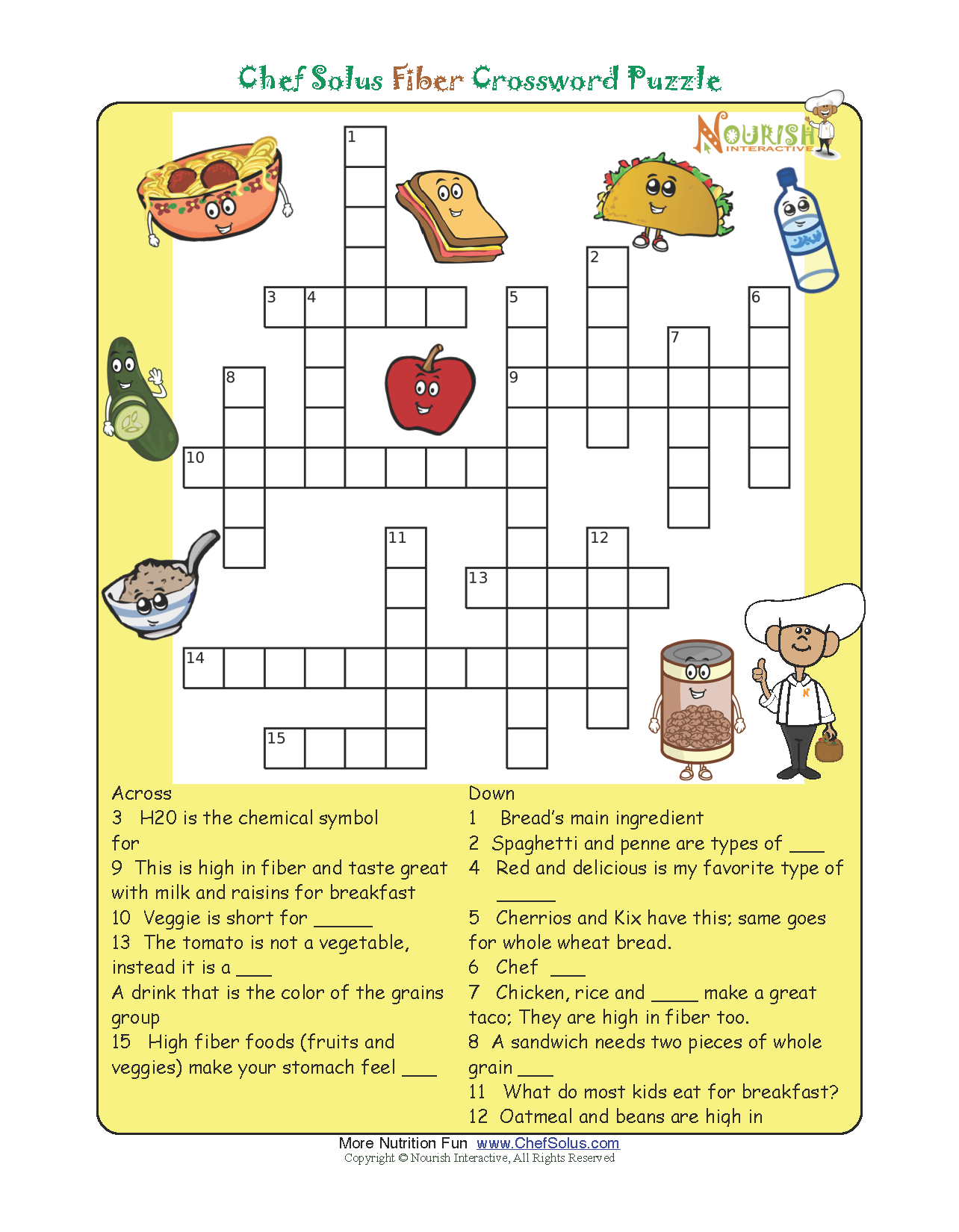 Printable Premier Crossword Puzzle