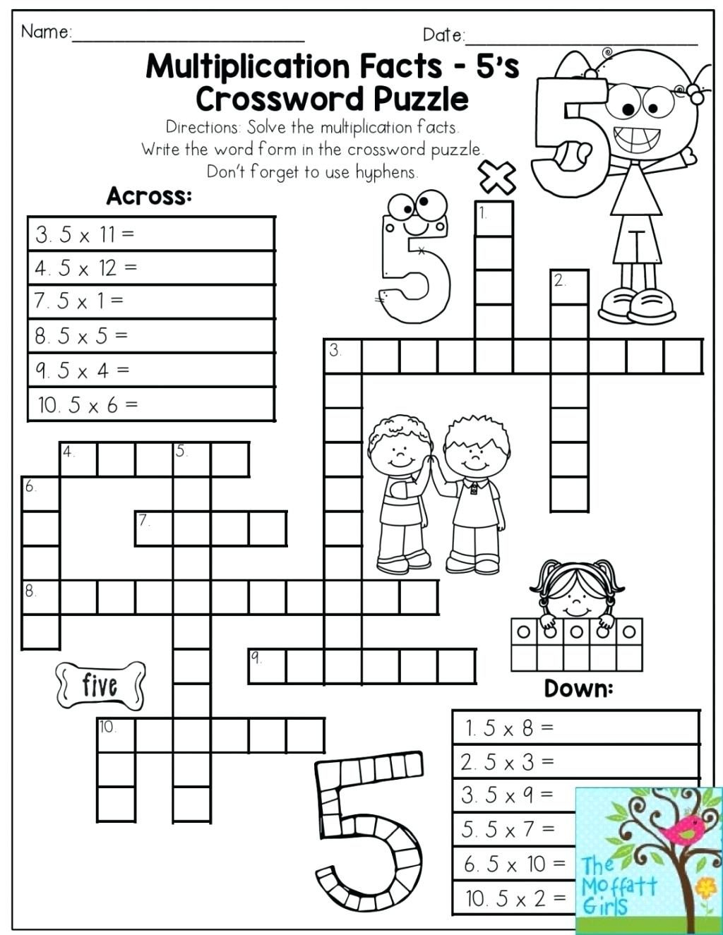 Printable Math Puzzles