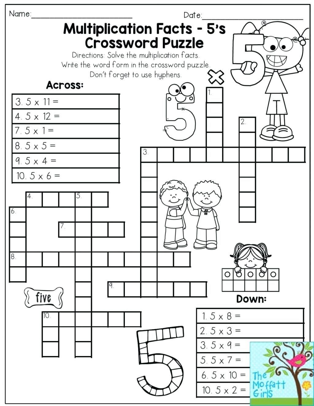 Printable Puzzles Ks3