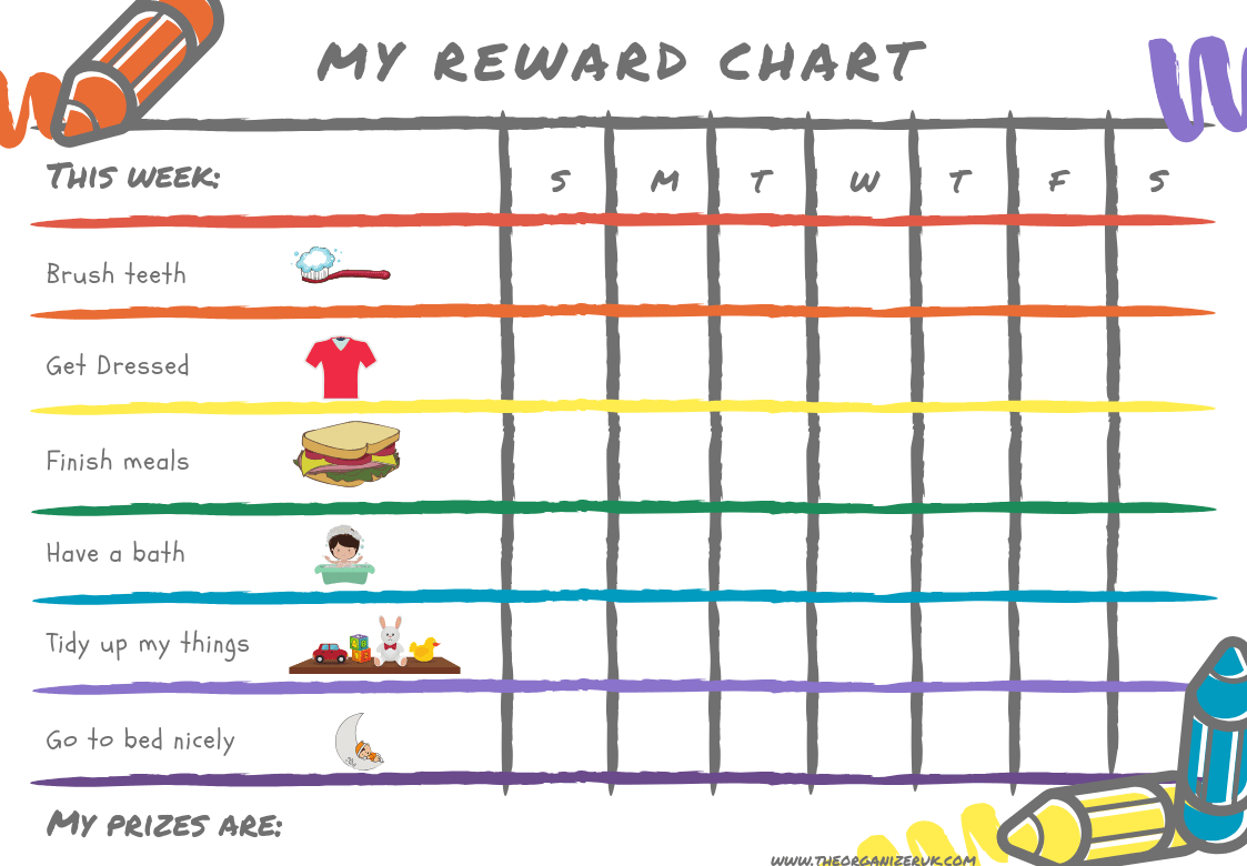 Daily Responsibilities Chart For Kids Free Printable To